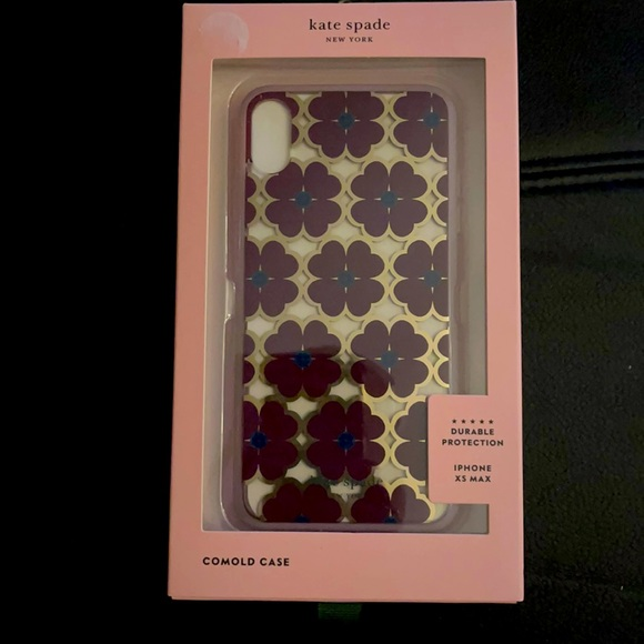 Kate Spade Flowers iPhone XS Max Case